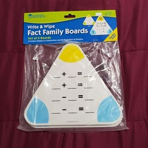 Learning Resources Fact Family Boards